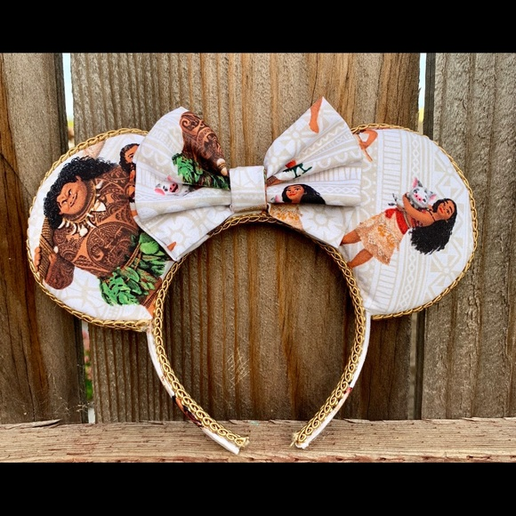 mayrafabuleux Accessories - Moana Minnie Ears, Moana Ears,Moana